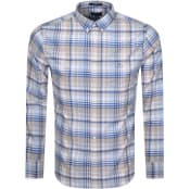 Product Image for Gant Preppy Oxford Plaid Shirt Blue