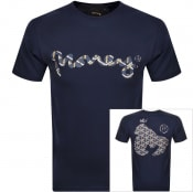 Product Image for Money Sig Ape Trifill T Shirt Navy