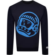 Product Image for Billionaire Boys Club Chainstich Sweatshirt Navy