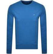 Product Image for Farah Vintage Tim Sweatshirt Blue