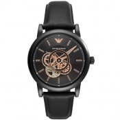 Product Image for Emporio Armani AR60012 Meccanico Watch Black