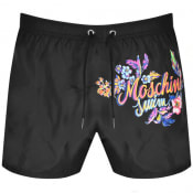 Product Image for Moschino Logo Swim Shorts Black