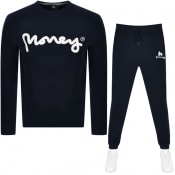 Product Image for Money Sig Ape Logo Tracksuit Navy