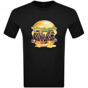 Product Image for Converse Burger Logo T Shirt Black