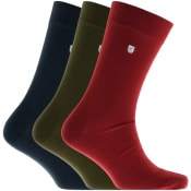 Product Image for Barbour Triple Pack Socks Mix