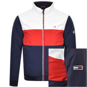 Product Image for Tommy Jeans Colour Block Padded Jacket Navy
