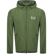 Product Image for EA7 Emporio Armani Core Hooded Jacket Khaki