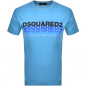 Product Image for DSQUARED2 Short Sleeved T Shirt Blue