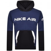 Product Image for Nike Air Logo Hoodie Navy