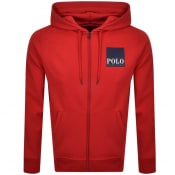 Product Image for Ralph Lauren Polo Full Zip Hoodie Red