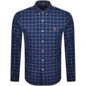 Product Image for Ralph Lauren Oxford Long Sleeve Shirt Blue