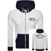 Product Image for Ralph Lauren Polo Full Zip Hoodie White