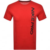Product Image for Nike Training Burnout Logo T Shirt Red