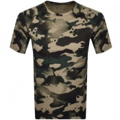 Product Image for Nike Training Slim Camo T Shirt Green