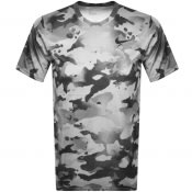 Product Image for Nike Training Camo Dry T Shirt Grey