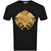 Product Image for Versace Jeans Couture Crystal T Shirt Black