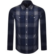 Product Image for G Star Raw 3301 Corduroy Long Sleeved Shirt Navy