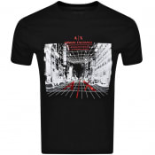 Product Image for Armani Exchange Logo T Shirt Black