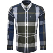 Product Image for Barbour Long Sleeved Tartan 12 Shirt Green