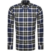 Product Image for Barbour Long Sleeved Tartan Shirt Green