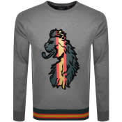Product Image for Luke 1977 Dwain Tape Sweatshirt Grey