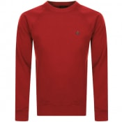 Product Image for Vivienne Westwood Raglan Crew Sweatshirt Red