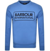 Product Image for Barbour International Crew Neck Sweatshirt Blue