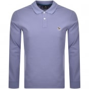 Product Image for PS By Paul Smith Long Sleeved Polo T Shirt Lilac