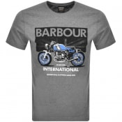 Product Image for Barbour International Greenwood T Shirt Anthracite