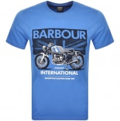 Product Image for Barbour International Greenwood T Shirt Blue