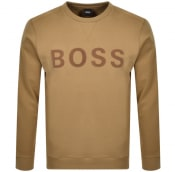 Product Image for BOSS Weefast Sweatshirt Beige