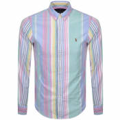 Product Image for Ralph Lauren Slim Fit Oxford Shirt Pink