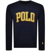 Product Image for Ralph Lauren Crew Neck Sweatshirt Navy