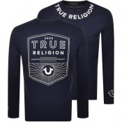 Product Image for True Religion Long Sleeve T Shirt Navy