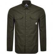 Product Image for Barbour Beacon Ripstop Overshirt Jacket Green