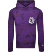 Product Image for Billionaire Boys Club Tie Dye Hoodie Purple