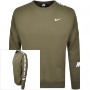 Product Image for Nike Repeat Fleece Sweatshirt Green