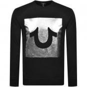Product Image for True Religion Box Foil Sweatshirt Black