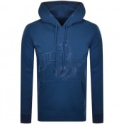 Product Image for True Religion Lurex Buddha Hoodie Blue