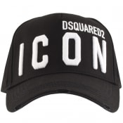 Product Image for DSQUARED2 Icon Baseball Cap Black
