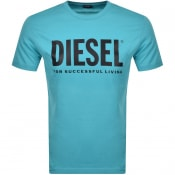 Product Image for Diesel T Diego Short Sleeved T Shirt Blue