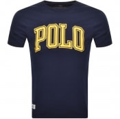 Product Image for Ralph Lauren Logo T Shirt Navy