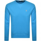 Product Image for Ralph Lauren Crew Neck Sweatshirt Blue