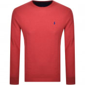 Product Image for Ralph Lauren Crew Neck Knit Jumper Red