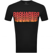 Product Image for DSQUARED2 Short Sleeved T Shirt Black
