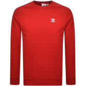 Product Image for Adidas Originals Essential Sweatshirt Red