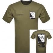 Product Image for The North Face Steep Tech T Shirt Khaki