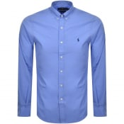 Product Image for Ralph Lauren Long Sleeved Slim Fit Shirt Blue