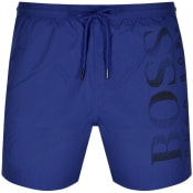 Product Image for BOSS Octopus Swim Shorts Blue