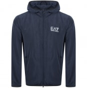 Product Image for EA7 Emporio Armani Core Hooded Jacket Navy